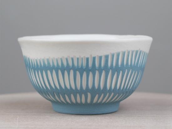 Bolinet trait - bleu