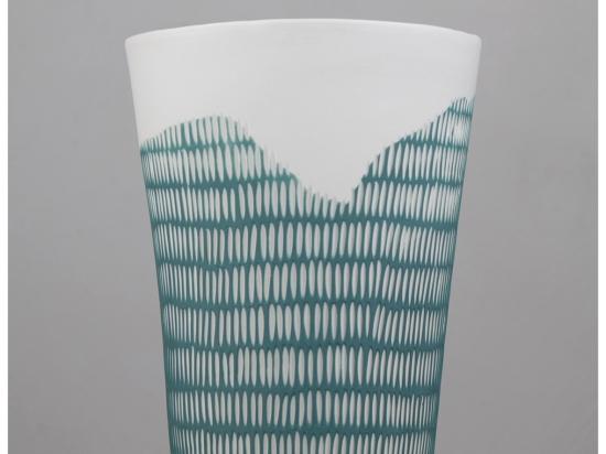 Vase trait - vert