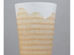 Vase trait - jaune