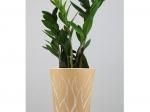 Vase végétal - jaune