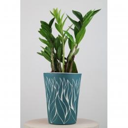 Vase végétal - vert