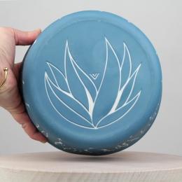 Corbeille végétal - bleu